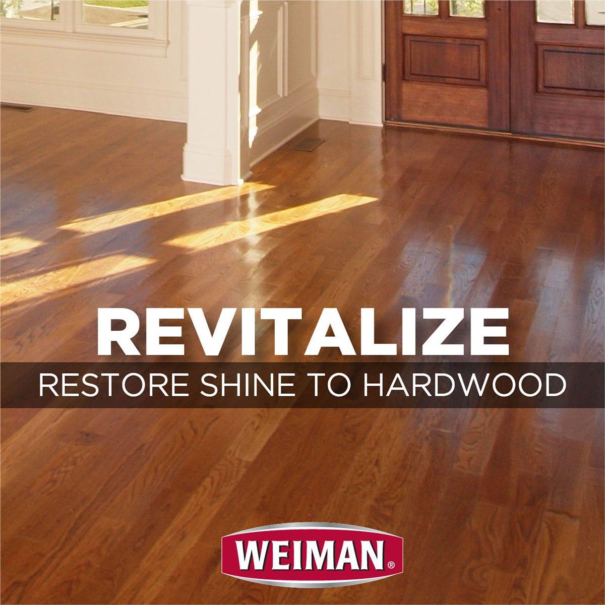 Restore shine to hardwood