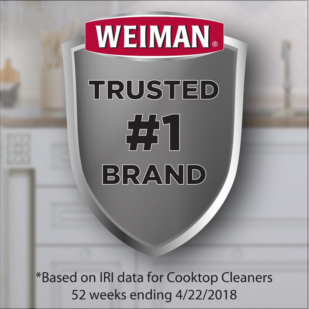 Trusted number one brand for cooktop cleaning