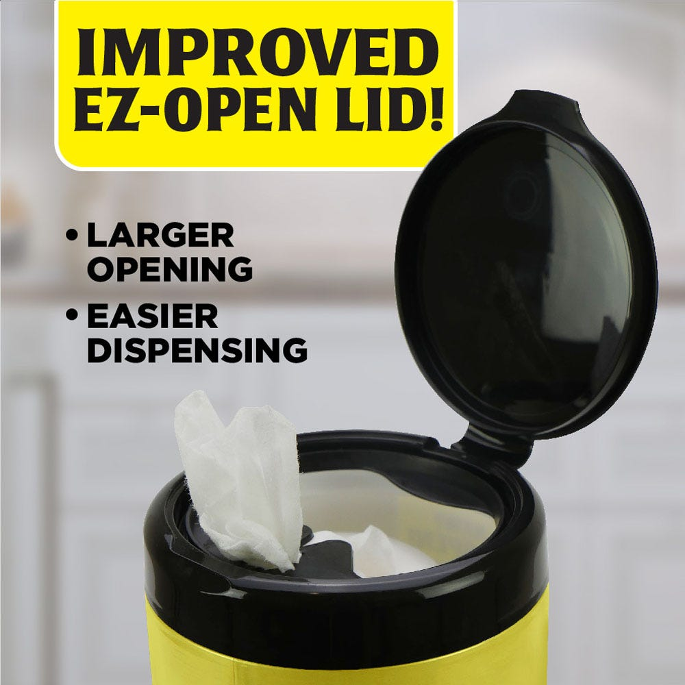 Improved, easier to open lid