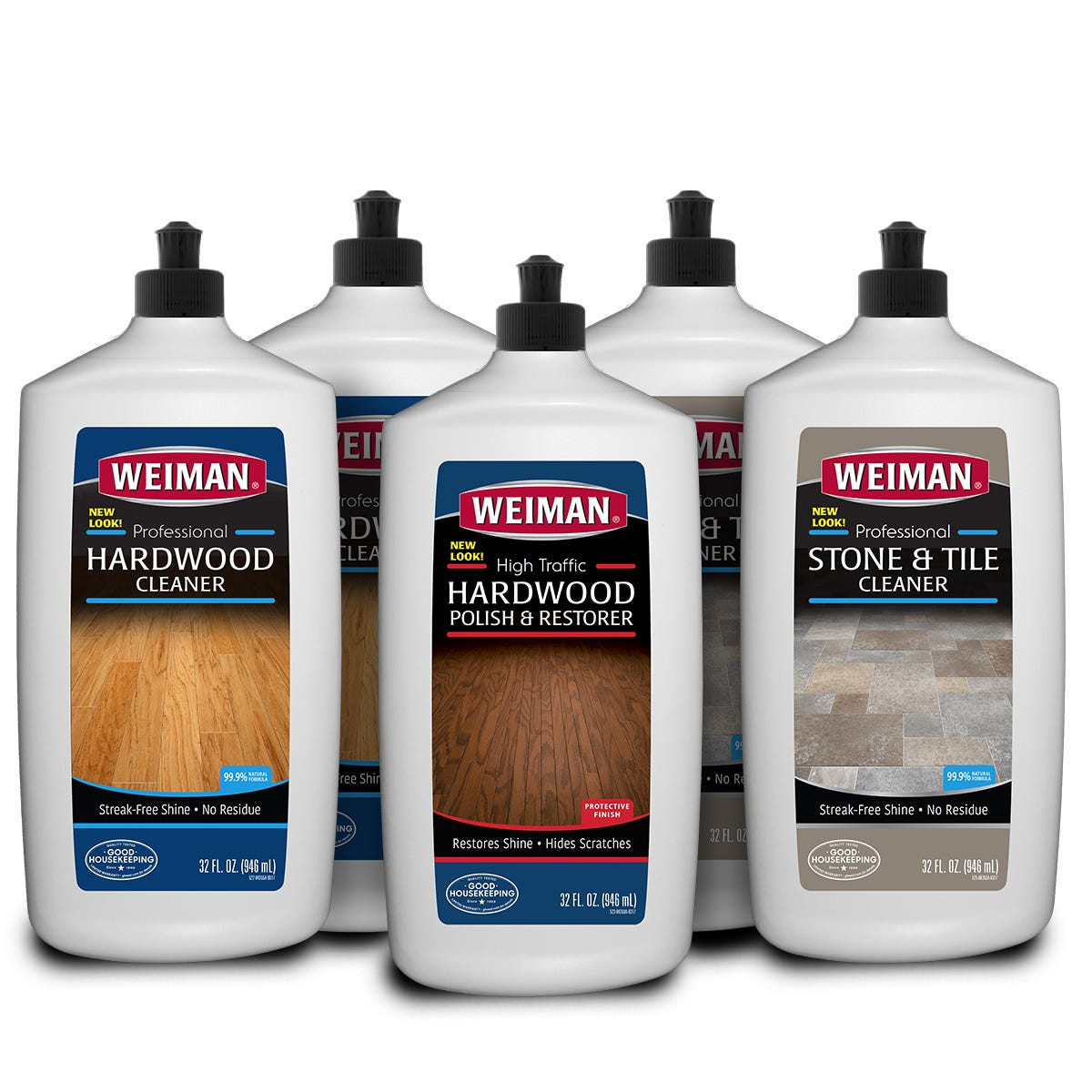 Hardwood & Stone Floor Care Kit