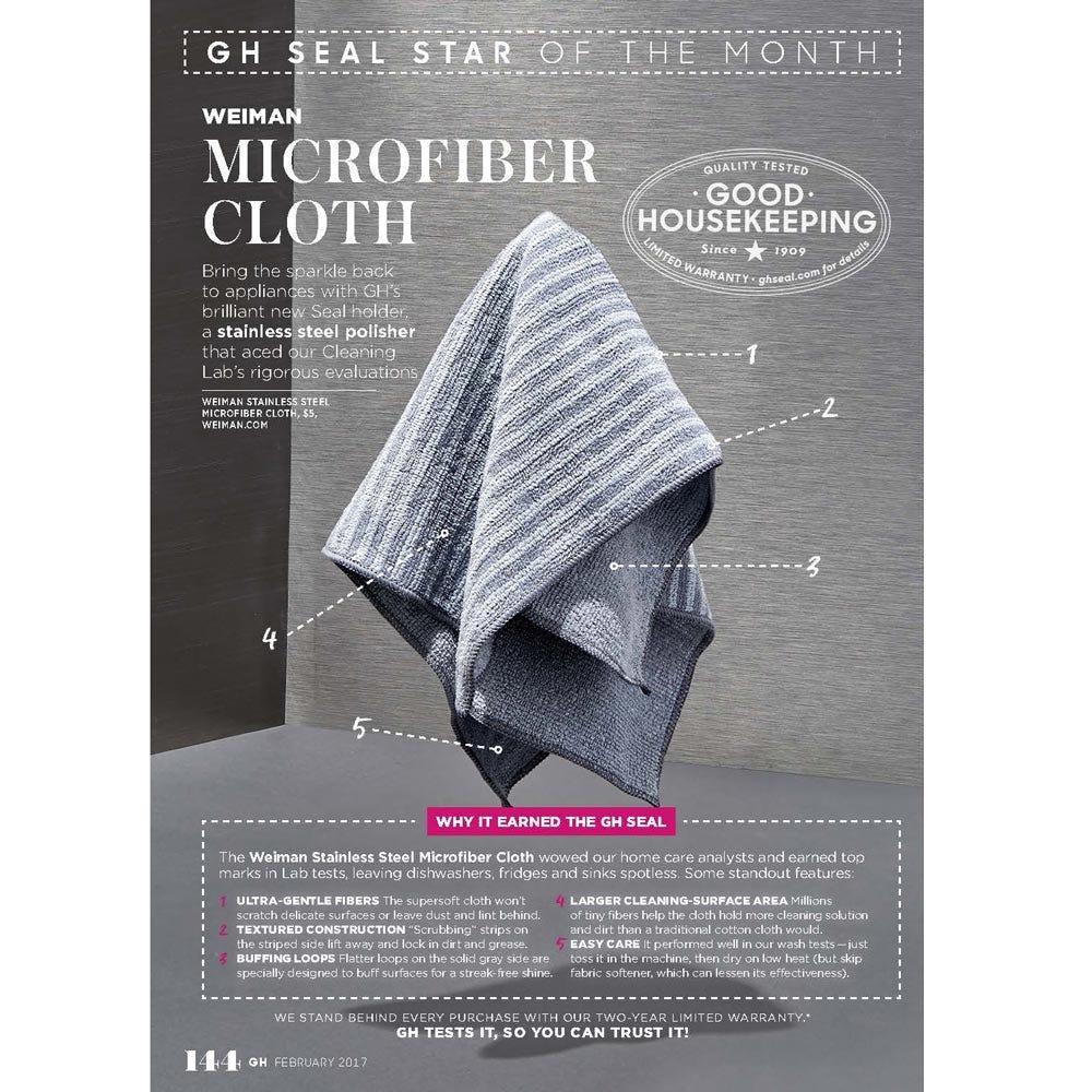 Good Housekeeping Microfiber Cloth