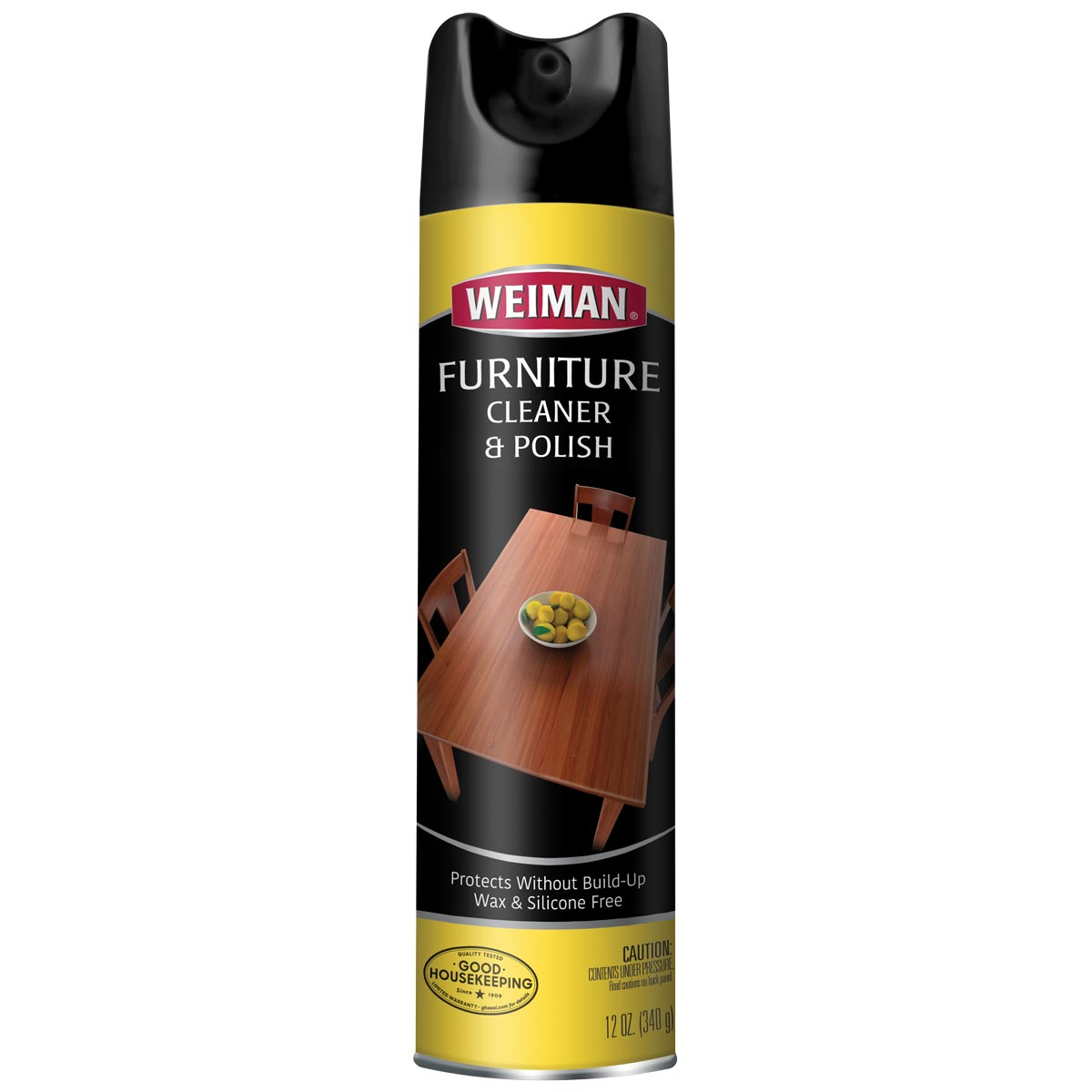 Wood Cleaner Polish Aerosol Weiman