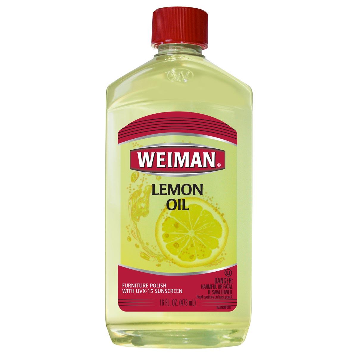 Weiman Lemon Oil for furniture