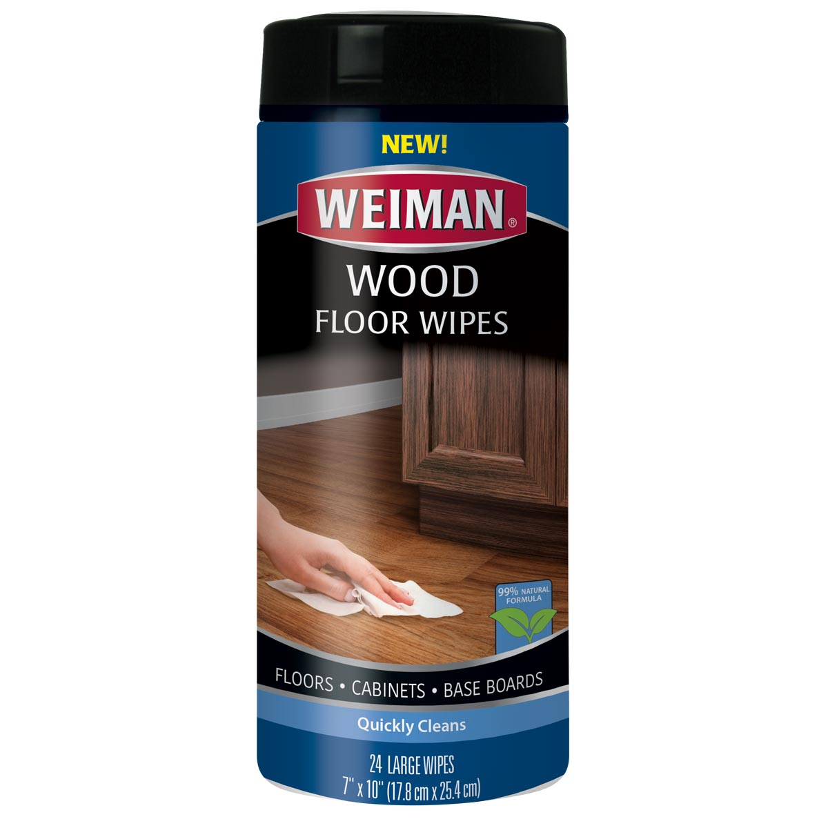 Baseboard cleaning wipes