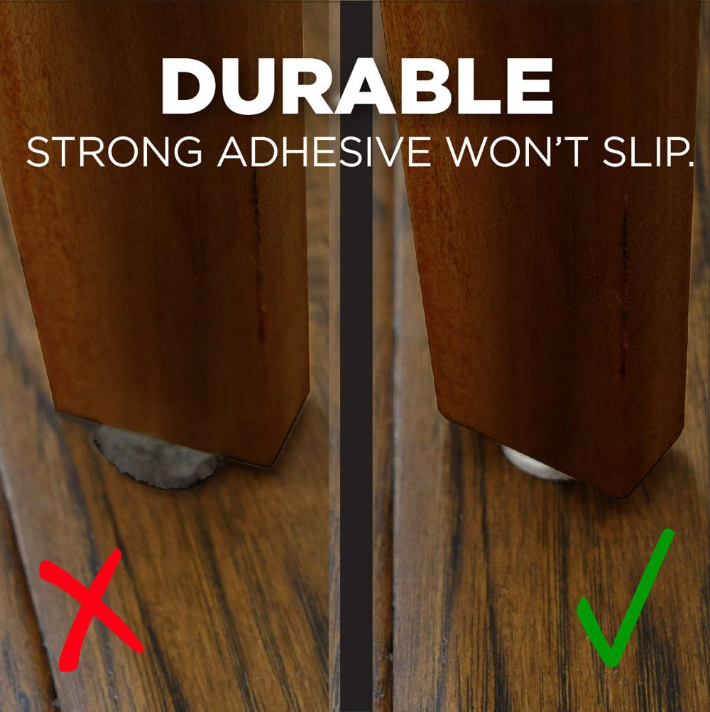 Durable adhesive won't slip