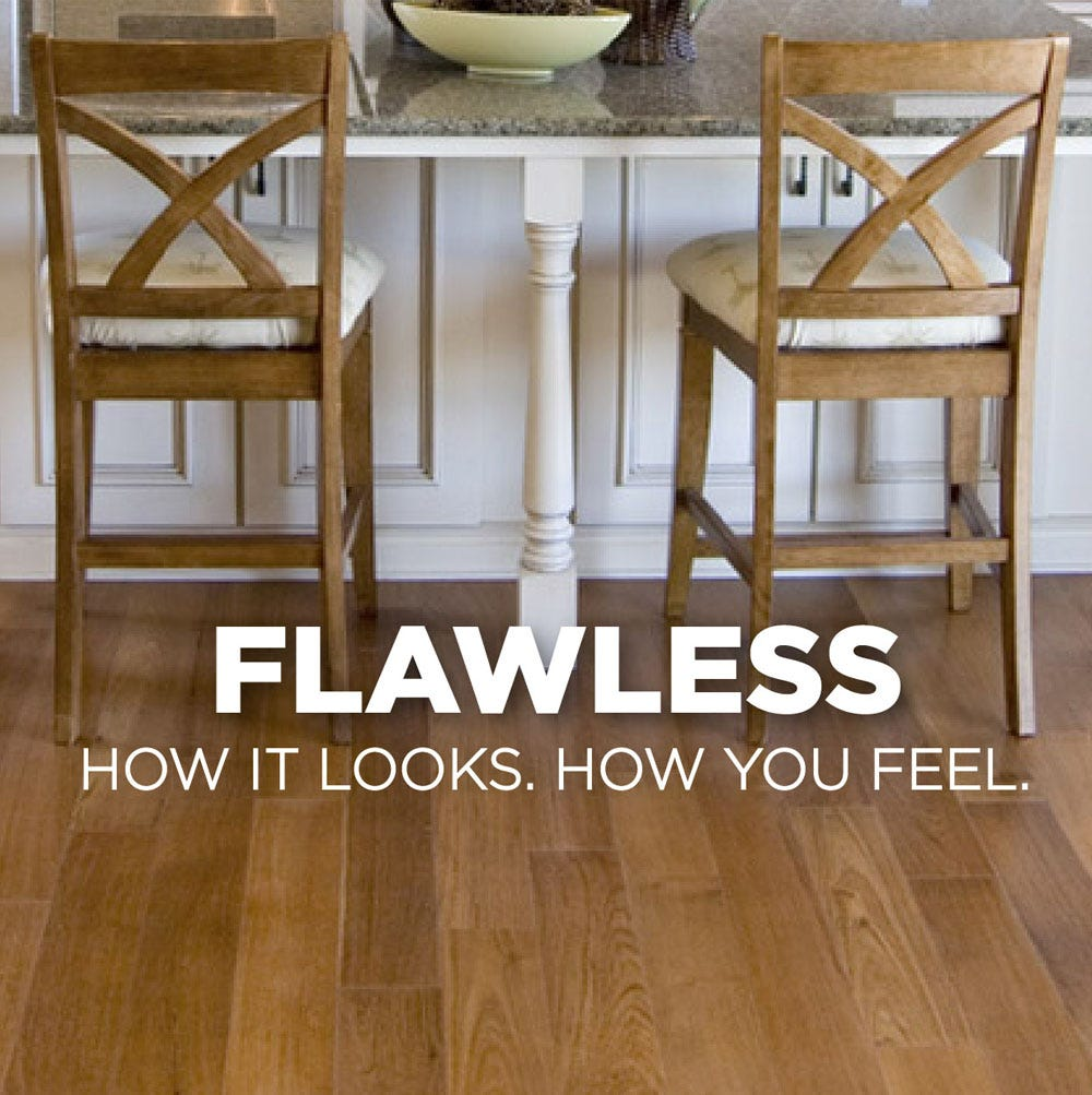 Flawless looking floors