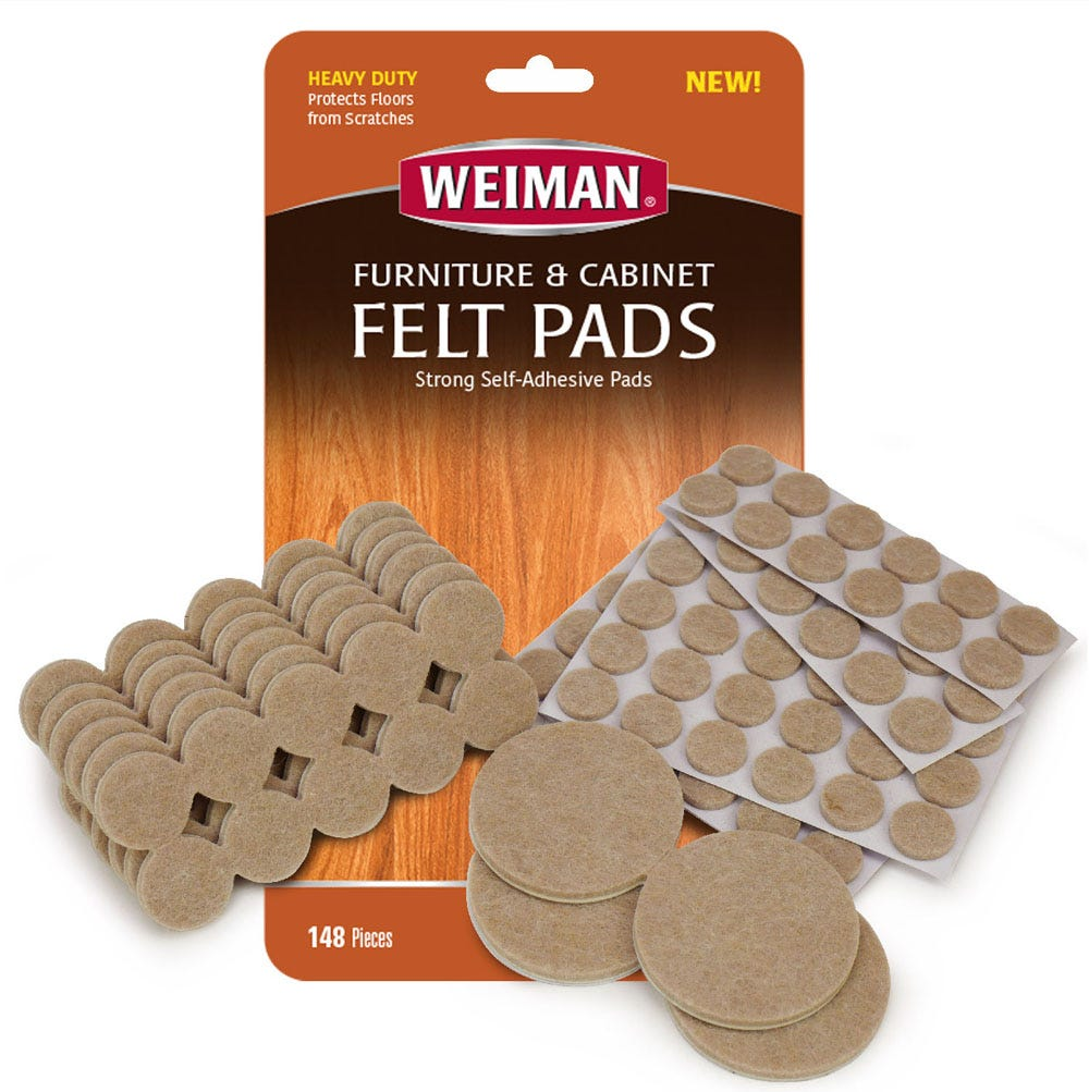 148 piece felt pad kit