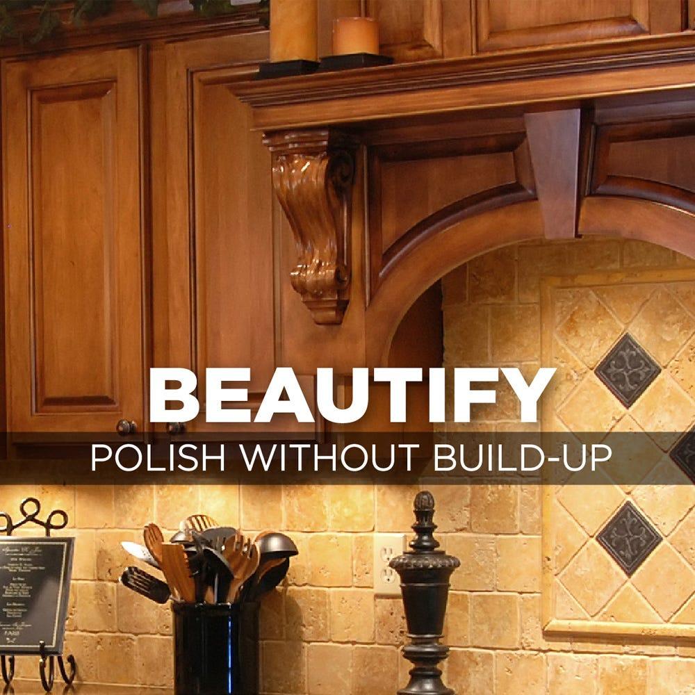 Beautify wood furniture