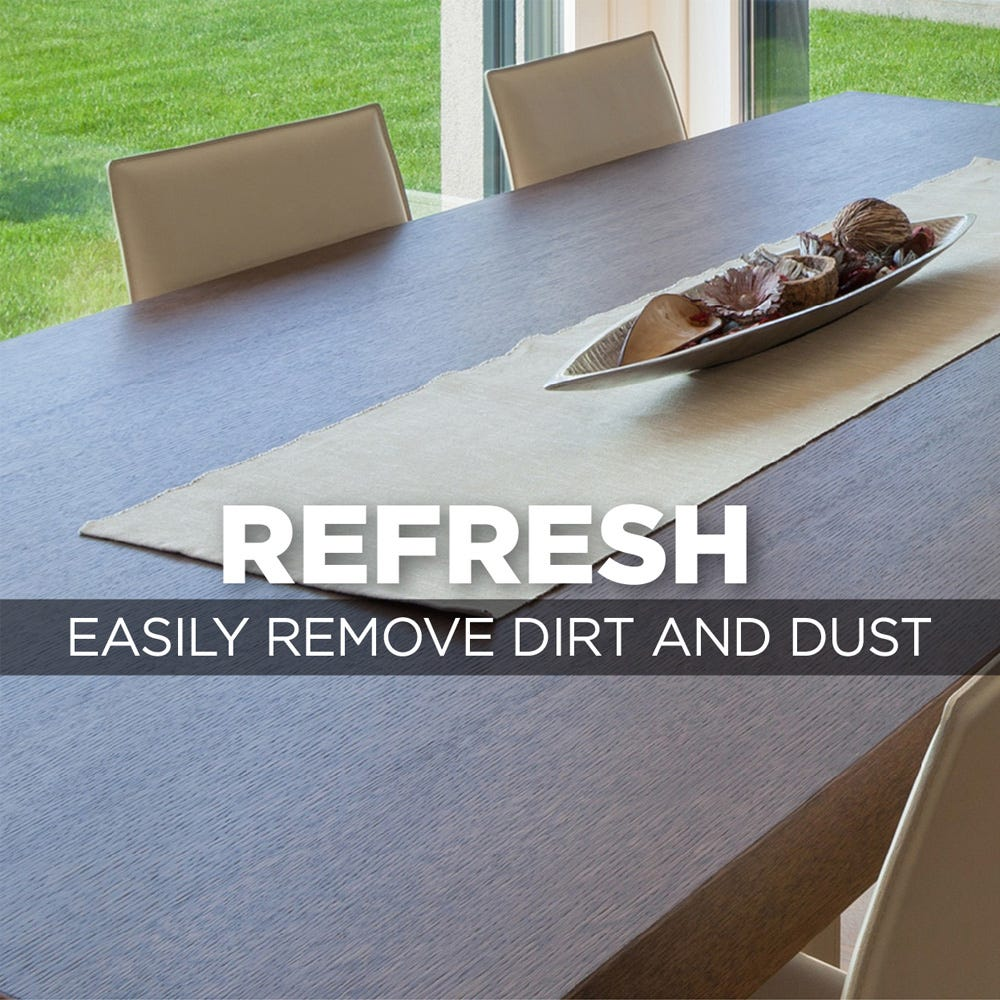 Easily remove dust and dirt