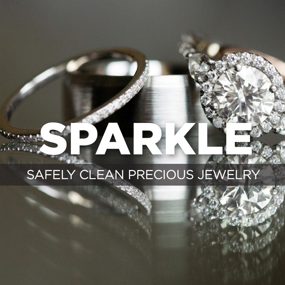 Safely clean precious jewelry