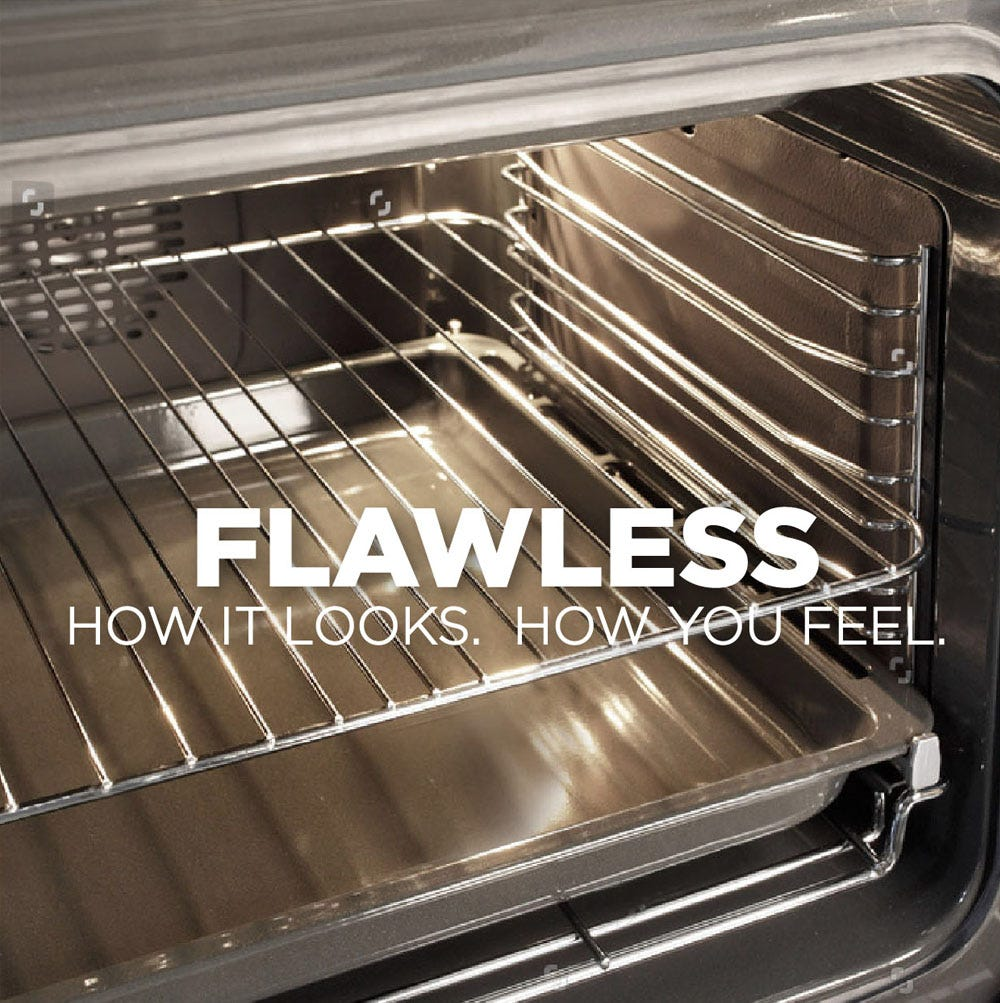Flawless looking oven