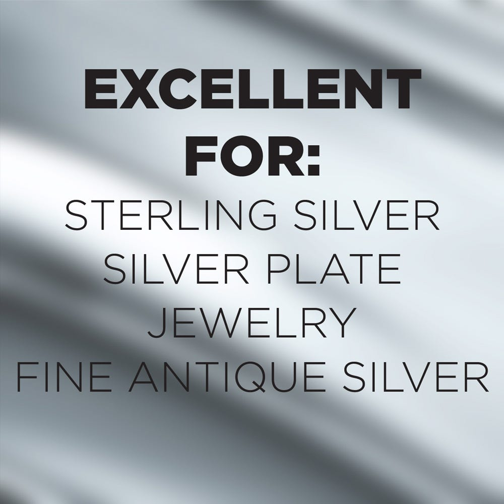 Use on silver, silver plate and more