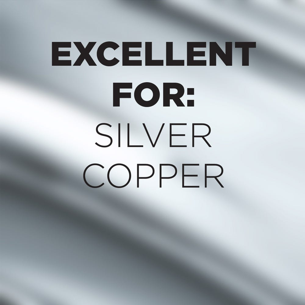 Use on silver and copper